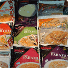 buy frozen parathas and chapattis